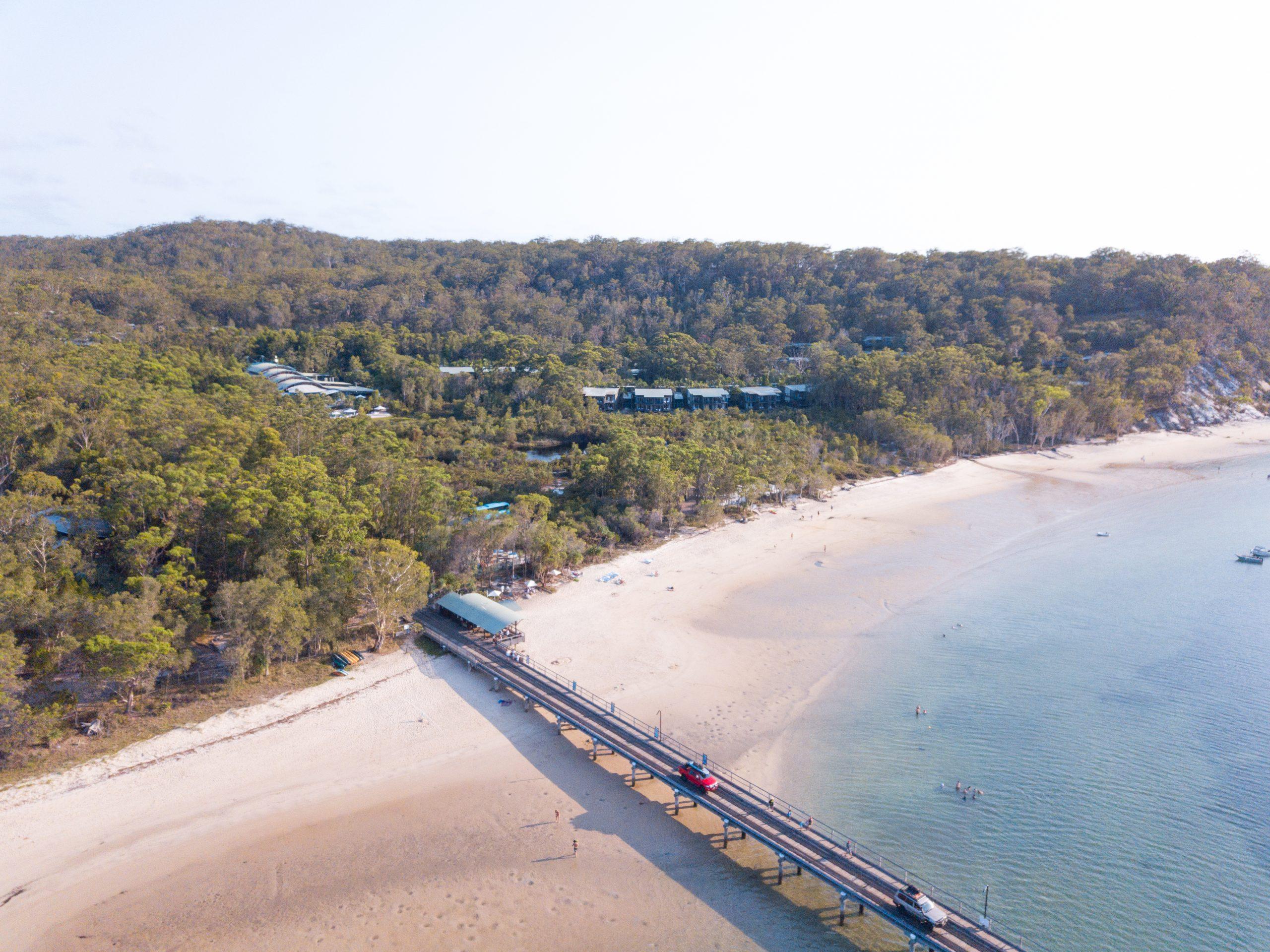 Jetty, Kingfisher Bay, Fraser Island