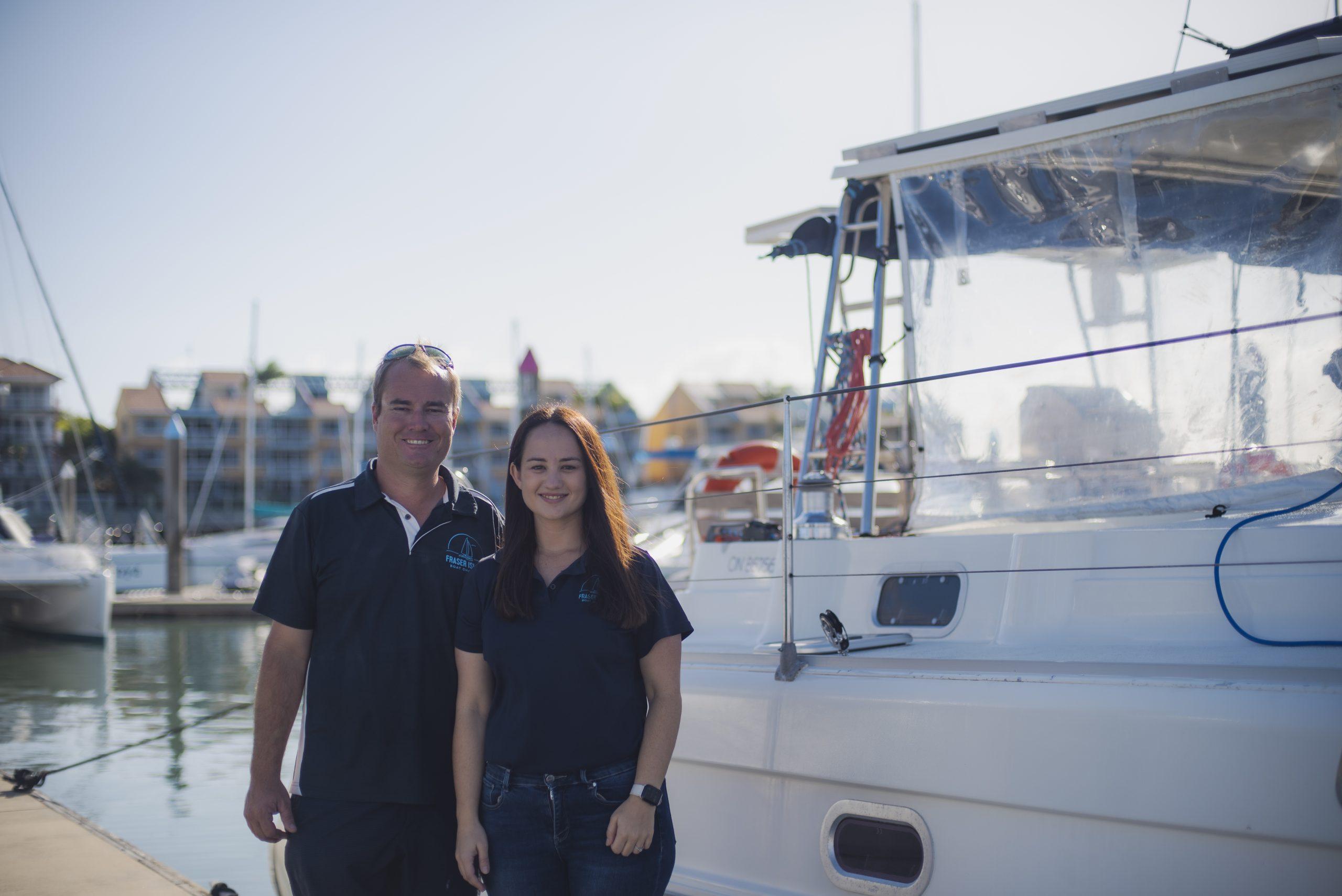 Steph & Scott - Fraser Island Boat Charters